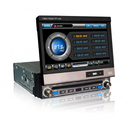 autoradio gps 1 din ipod tnt pip ecran tactile 7 hd 800 480. Black Bedroom Furniture Sets. Home Design Ideas