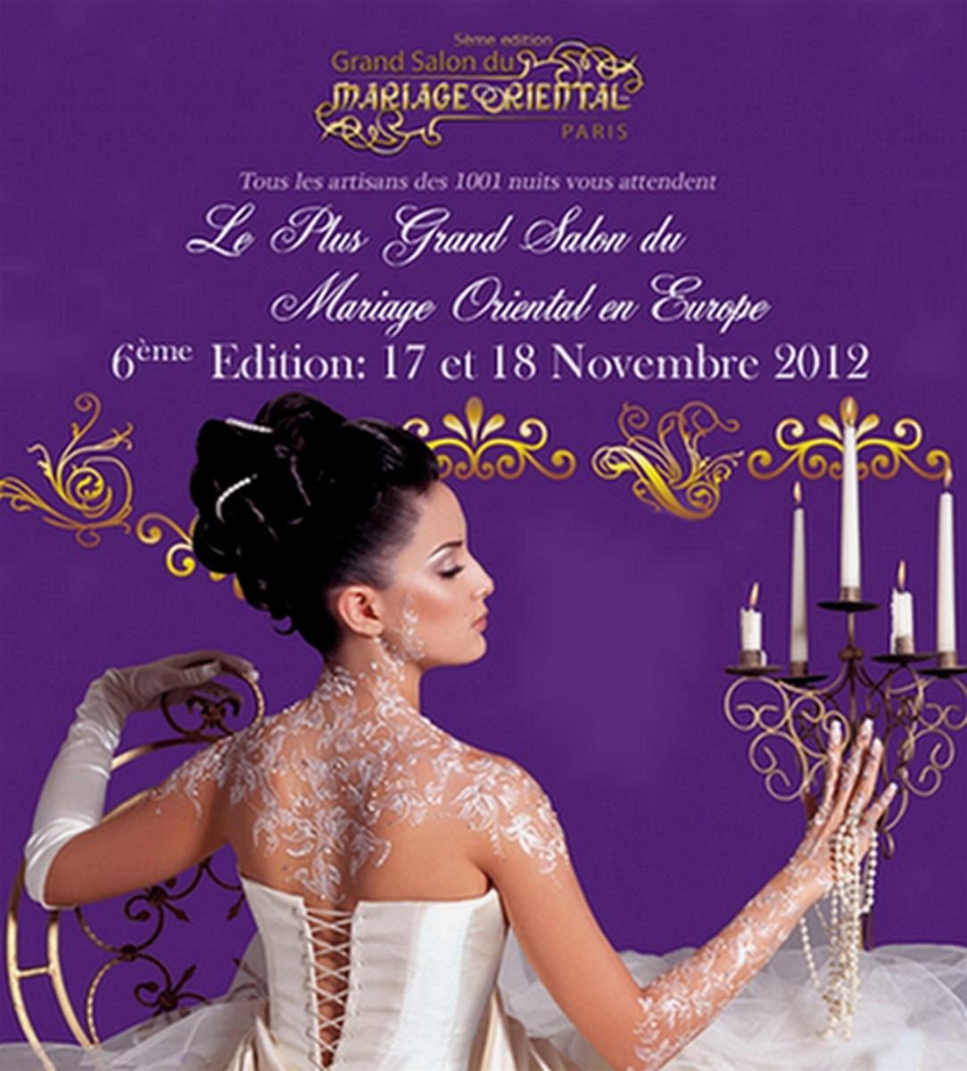 Grand salon du mariage oriental 2012 - Salon du mariage oriental ...