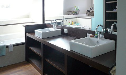salle de bain rennes agencement. Black Bedroom Furniture Sets. Home Design Ideas