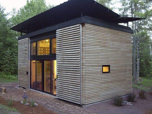 Naissance du blog consacr aux mini maisons archimeo for Mini maison moderne