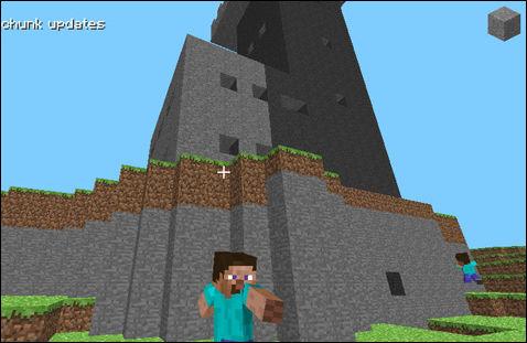 Minecraft le jeu de construction et de survie - Jeu de cube comme minecraft ...