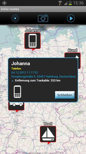 L 39 Application Mobile Inviu Routes Pour G Olocaliser Par