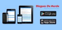 Nouvelle application Blagues De Merde iPhone et Android