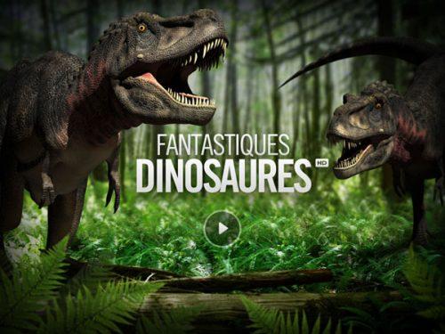 Encyclopédie sur les dinosaures pour iPad