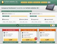 Comparateur de Forfaits Tablette 3G