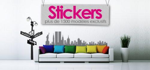 Le plus grand ventail de stickers muraux sur mandellia - Stickers muraux grand format ...