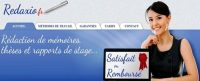 Redaxio plébiscité par les francophones : numéro 1  d'aide à la rédaction de mémoires et thèses.