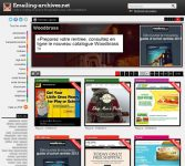 Emailing-archives.net : veille e-mailing et source d'inspirations pour web-marketeurs