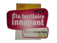 Prix Territoires Connectés 2013 : de l'or pour VALENCE AGGLO !