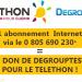 1 abonnement Internet = 1 don pour le telethon