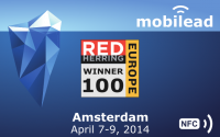 mobiLead, lauréat 2014 du concours Red Herring Top 100 Europe