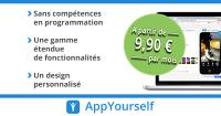 Le site de création d'applications AppYourself.net lance son blog en français