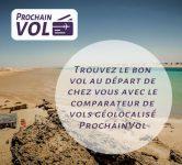 ProchainVol, un comparateur de vols géolocalisé #MadeinFrance