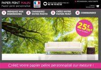 Papier Peint Malin, le spécialiste du papier peint personnalisé